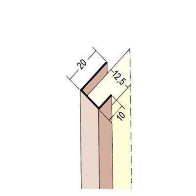 3741 PVC профил 12.5/3000 мм