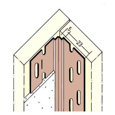 3770 PVC вътрешен ъгъл 70-135° /3050 мм