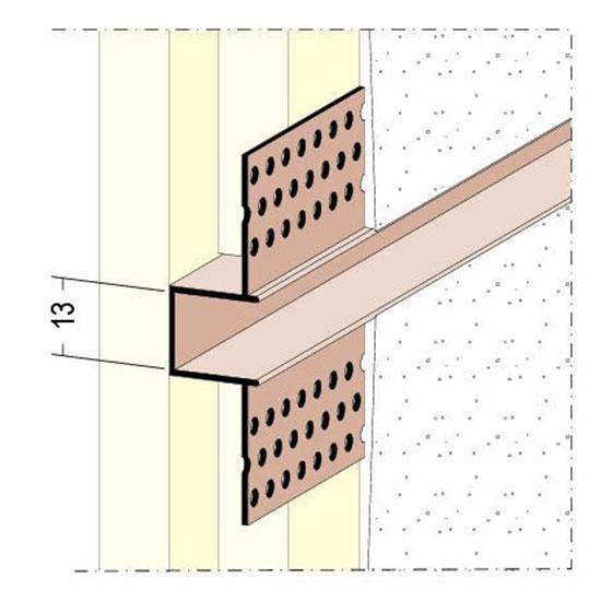 37724 Декоративен предпазен профил 3050 мм