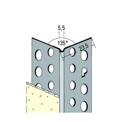 9172 ALU ъгъл 135° /2500 мм